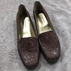 New Anne Klein Brown Loafers